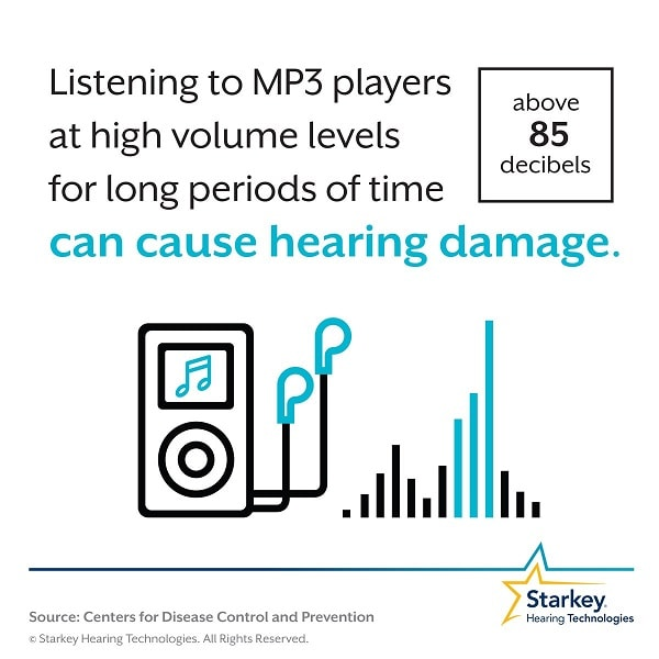 השפעת מוזיקה חזקה על בעיות שמיעה