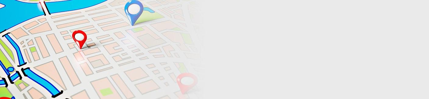 תמונה של מפת מכוני שמיעה